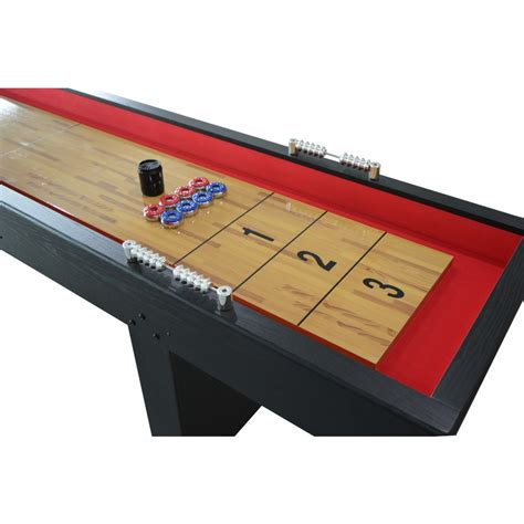 9 ft shuffleboard table avenger 9 ft recreational shuffleboard table
