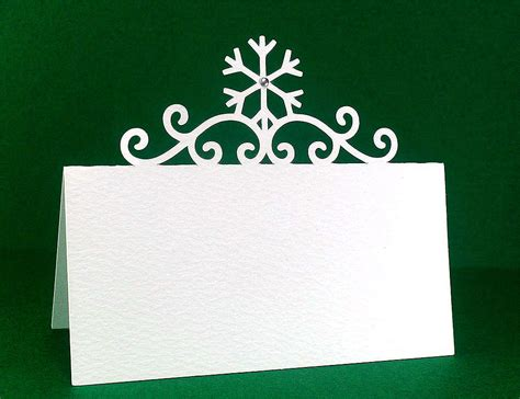 Can I Email A Gift Card - christmas place cards free cut file