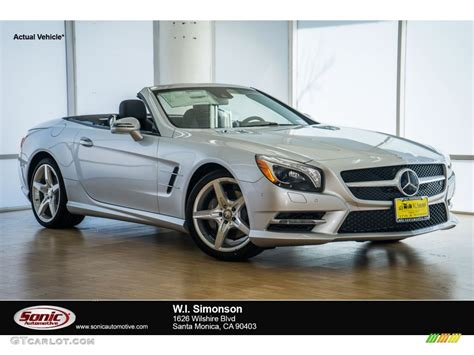2016 iridium silver metallic mercedes sl 400 roadster 107268638 gtcarlot car color