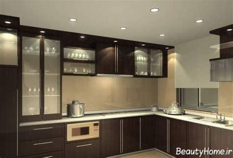 kichan fharnichar مدل کابینت های ام دی اف mdf برای آشپزخانه های بزرگ و کوچک
