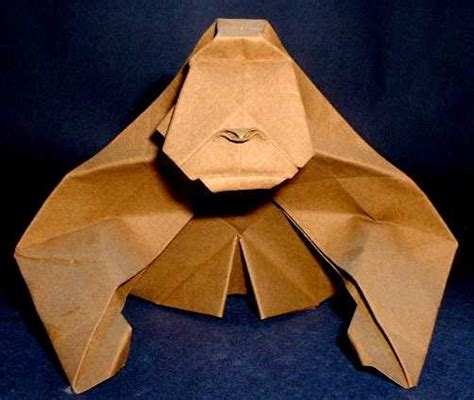How To Make Origami Gorilla - origami gorillas page 1 of 2 gilad s origami page