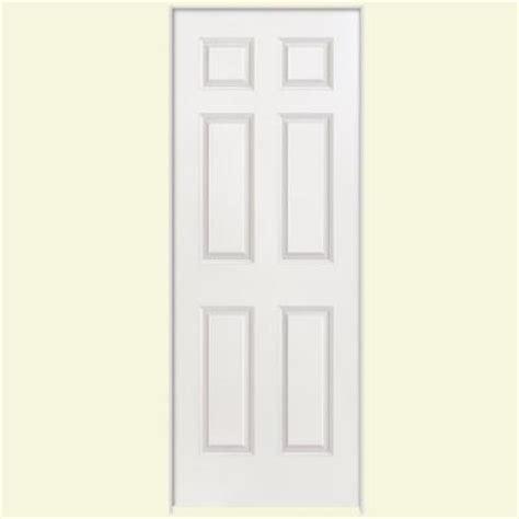 Masonite 24 In X 80 In Solidoor Smooth 6 Panel Solid Masonite Solid Interior Doors