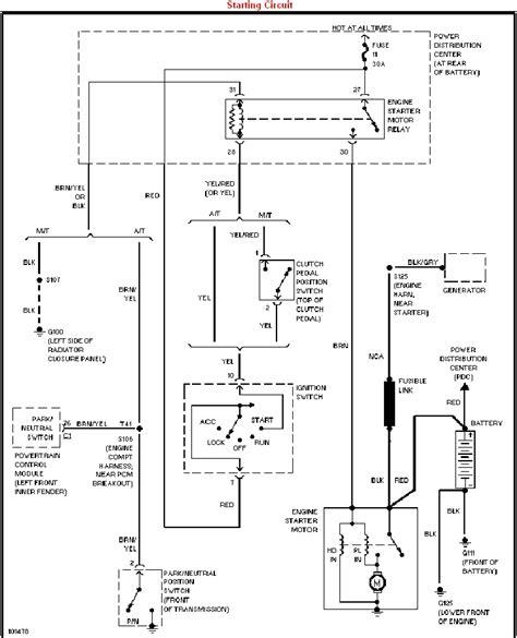 dodge neon ignition wiring diagram won t start 98 dodge neon dodgeforum