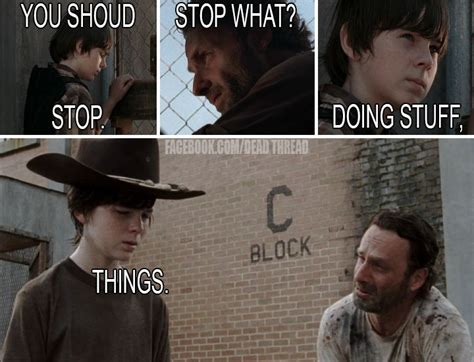 Walking Dead Stuff And Things Meme - 161 best images about rick grimes the walking dead humor
