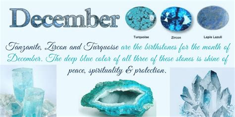 what color birthstone is december december birthstone color