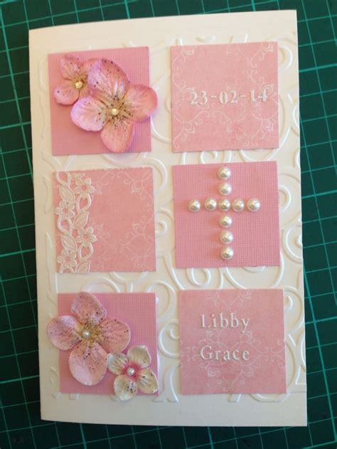Handmade Christening Card Ideas - 17 best ideas about christening card on