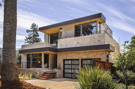modern looking houses contemporary style home in burlingame california