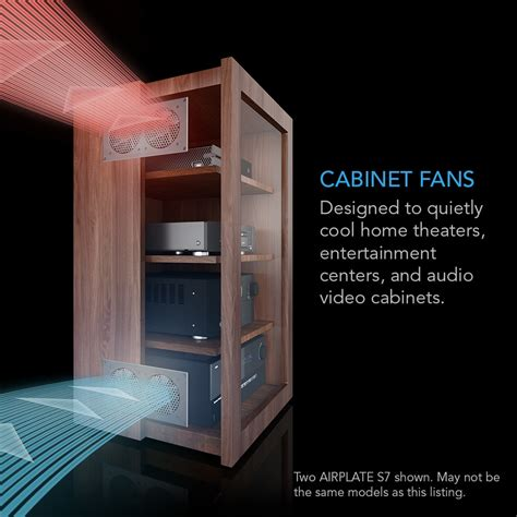 airplate  home theater  av cabinet quiet cooling
