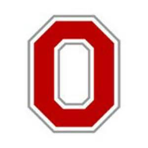 Ohio State Block O Outline by 12 Block O Ohio State Graphics Images Ohio State Block O