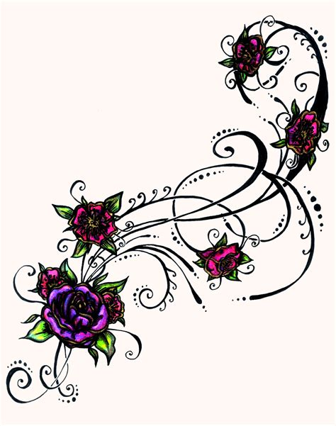 tribal flower tattoo designs tribal flower design 2015