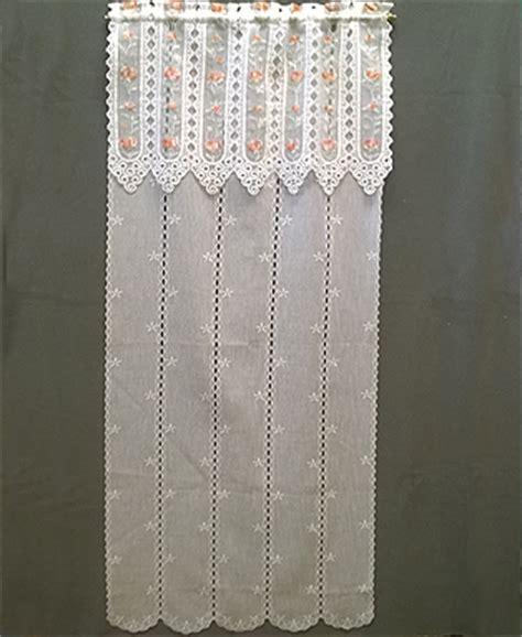 modelli di tende a vetro tendaggi tendine a vetro modello roselline