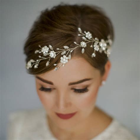 Vintage Wedding Hair Stylist Sydney by Bohemian Bridal Wedding Hair Vine Sydney By Debbie