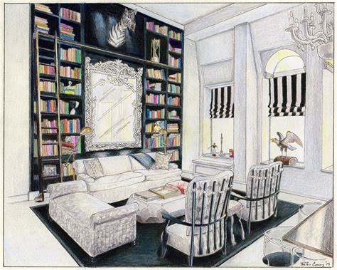 interior drawings foster cranz archinect