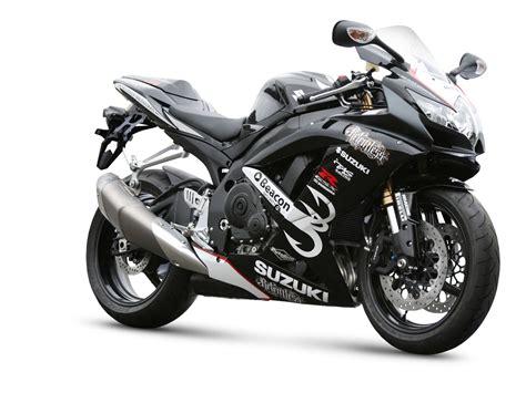 Black Suzuki Motorcycles Black Suzuki Gsx R600 Sports Motorcycle Desktop Wallpaper