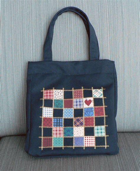 Totebag Kombi Perca Made planetjune by june gilbank 187 patchwork embellished tote