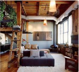 Wood Interior Homes Bohemian Interior Design With Classic Furniture Set And