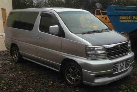 nissan 1998 elgrand 7 seater car for sale