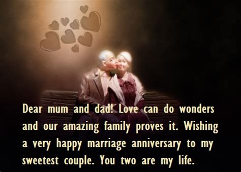 Wedding Anniversary Quotes For Your Parents by Wedding Anniversary Wishes Quotes Images For Parents