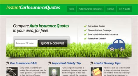 Instant Car Insurance Quote by Instantcarinsurancequotes Net Instant Car Auto
