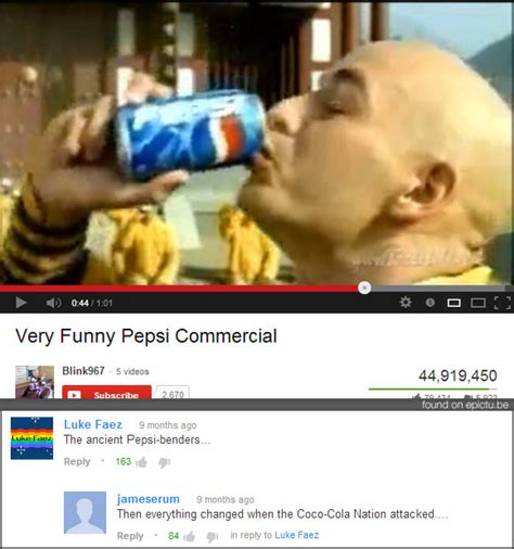 Pepsi Quote Commercial