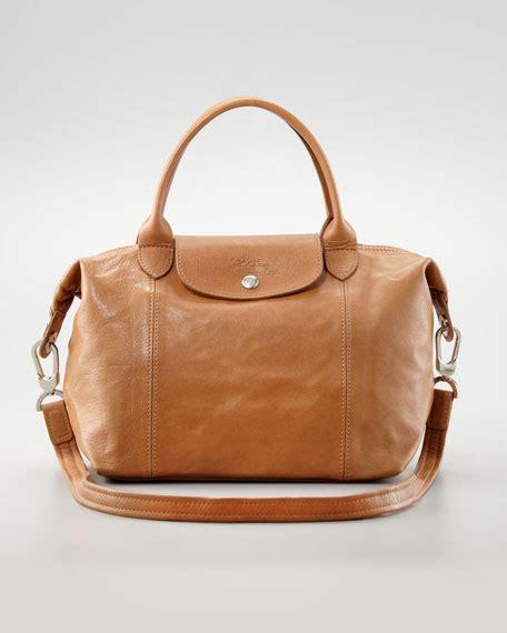 Longch Cuir Small 11 longch le pliage cuir small handbag with