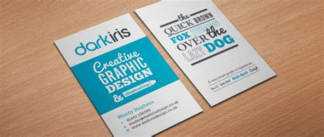 graphic design business cards iris graphic designer business card design
