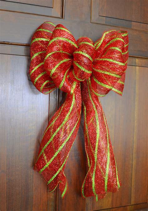 deco mesh bow deco mesh wreaths pinterest