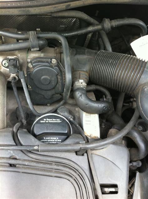 Drosselklappe Audi A3 8l by Foto Drosselklappe Lmm Wie Hei 223 T Dieser Schlauch A3 8l