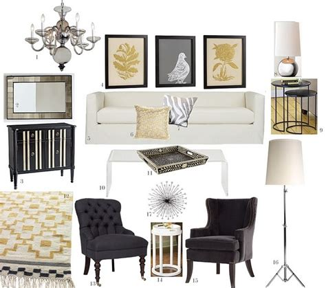 elm home decor 449 best glam chic living rooms images on pinterest