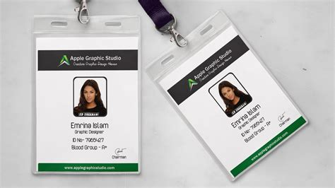 Id Card Designer For Mac Design And Print Multiple Id | how to design an id card print design photoshop
