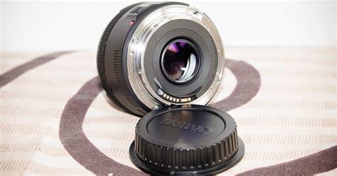 jual lensa canon mm  stm bonus filter vu  lens