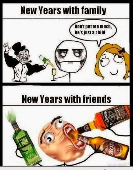 Happy New Year Meme 2014 - best new year 2015 jokes memes trolls collection happy