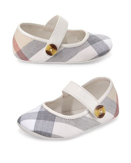 burberry shoes for baby burberry heacham check canvas sneaker white newborn