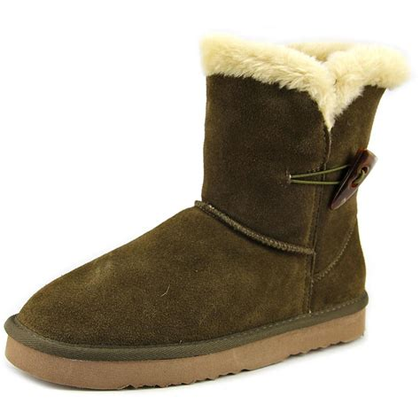 style co tiny toe suede winter boot ebay