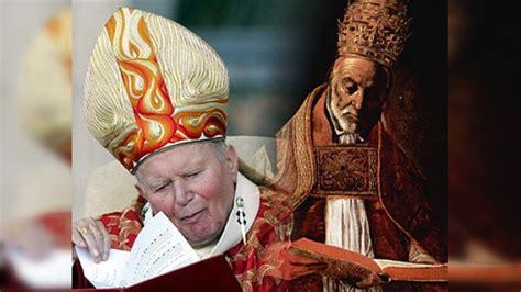 nombres de los papas de la iglesia catolica los papas canonizados y beatificados por la iglesia