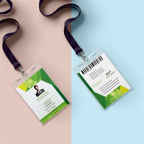 employee id card template free behance id card design on behance