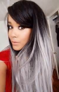 gray colored hair 25 new grey hair color combinations for black the