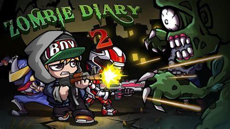 mod apk game zombie diary zombie diary 2 evolution apk v1 2 0 mod unlimited money