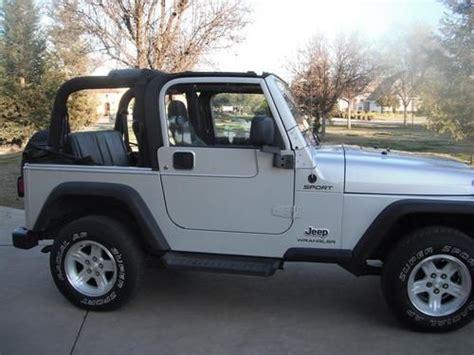 jeep convertible 4 door sell used 2004 jeep wrangler sport sport utility 2 door 4