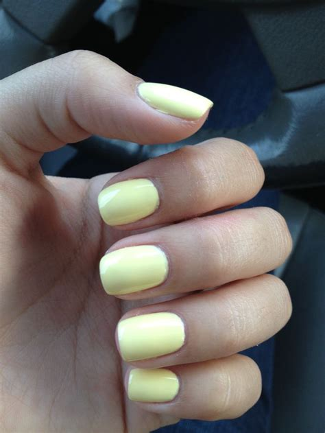 light yellow nail monday pale yellow nails being plum