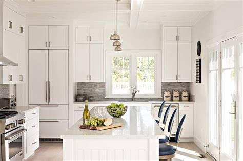 white kitchen island with stools white beadboard kitchen island with blue vintage bar