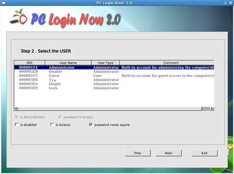 reset vista password windows 8 1 8 7 xp vista login password recovery tool