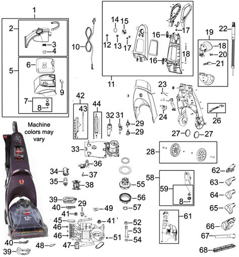 bissell proheat 2x parts diagram bissell proheat 2x parts diagram car interior design