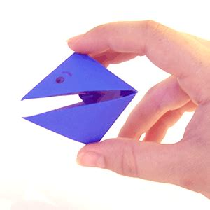 How To Make Paper Snapper - origami snapper