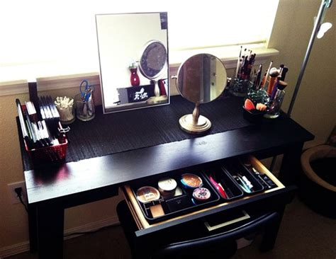 Ikea Glass Table Top 51 Makeup Vanity Table Ideas Ultimate Home Ideas
