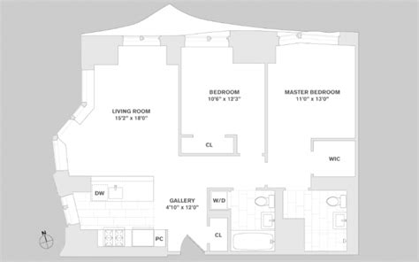 8 spruce street floor plans 8 spruce street apartments for rent in financial