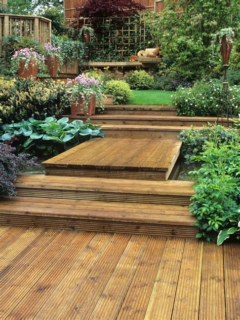 Decking Ideas Small Gardens 17 Best Ideas About Garden Levels On Pinterest Decking Ideas Outdoor Decking And Deck Steps