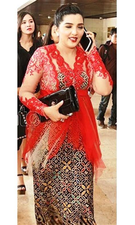 Preloved Dress Pendek model baju kebaya modern untuk wanita gemuk prelo