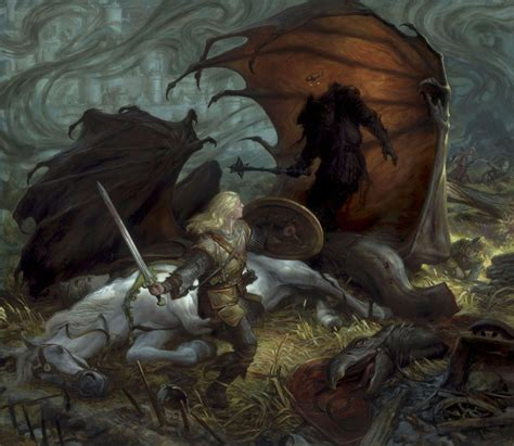 warrior of the void fantastica books eowyn and the nazgul muddy colors