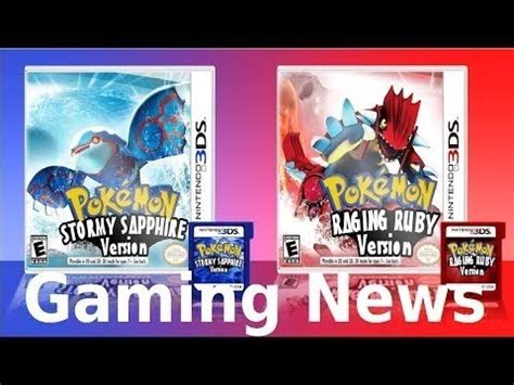 Kaset 3ds Alpha Sapphire Omega Ruby And Alpha Sapphire Trailer 3ds